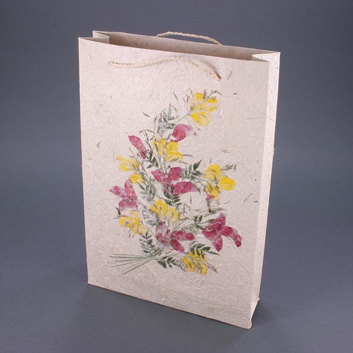 """Flower Gift Bag - 8"""" x 12"""" x 2.5"""""""
