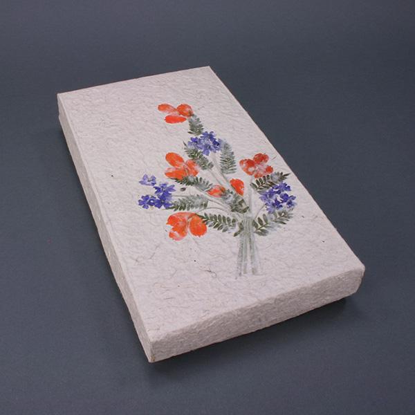 "Flower Gift Box 9.5"" x 5.5"" x 1"""