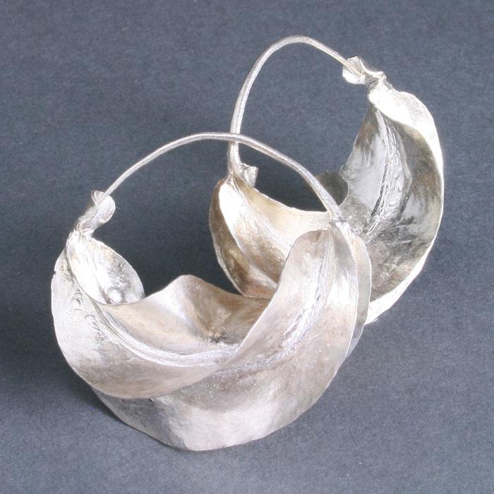 Fulani Sterling Silver Earrings